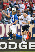 Conor Casey. The USA defeated Honduras, 2-1, in a World Cup qualifying match at Soldier Field in Chicago, IL on June 6, 2009.