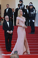 THIERRY FREMAUX AND UMA THURMAN - RED CARPET OF THE OPENING CEREMONY AND OF THE FILM 'LES FANTOMES D'ISMAEL' AT THE 70TH FESTIVAL OF CANNES 2017