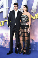 "Isaac Carew and Dua Lipa<br /> arriving for the ""ALITA: BATTLE ANGEL"" world premiere at the Odeon Luxe cinema, Leicester Square, London<br /> <br /> ©Ash Knotek  D3475  31/01/2019"