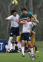 Carlos Borja, left, Nikolas Besagno, right, Nike Friendlies, 2004.