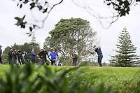Josh Geary during the Jennian Homes Charles Tour Taranaki Open, New Plymouth Golf Course, Sunday 18 October 2020. Photo: Simon Watts/www.bwmedia.co.nz