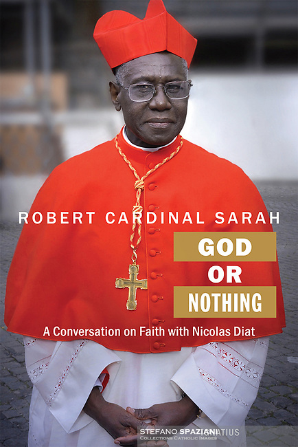 Cardinal Robert Sarah,God or Nothing. Edition Ignatius. 2015.<br /> Photograph by Stefano Spaziani.