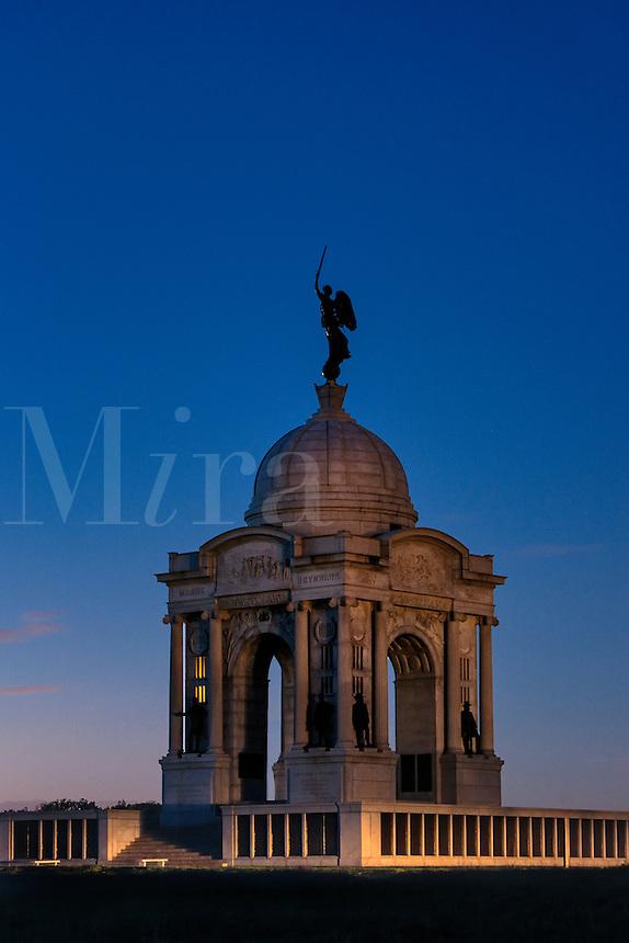 State of Pennsylvania monument, Gettysburg National Military Park, Pennsylvania, USA