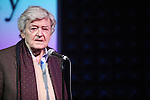 Hal Holbrook.performing in The Sonnet Repertory Theatre's Tenth Annual Benefit & Cabaret in New York City on 11/14/2011.