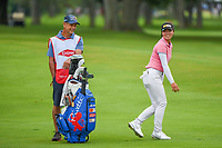 16th July 2021, Midland, MI, USA;  Yuka Saso (PHI) shares a laugh with her caddie on 3 during the Dow Great Lakes Bay Invitational Rd3 at Midland Country Club on July 16, 2021 in Midland, Michigan.