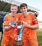 06.05.2019 Falkirk v Rangers reserves: Stephen Kelly and Cammy Palmer