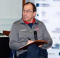 Monday 27th January 2020 | Ulster Schools' Cup Draw<br /> <br /> Barney McGonigle at the draw for the Ulster Schools' Cup Quarter Finals held at Kingspan Stadium, Ravenhill Park, Belfast, Northern Ireland. Fixtures to be played on or before 8 Feb 2020.  Photo credit - John Dickson DICKSONDIGITAL