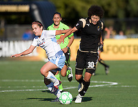 07 June 2009:  Eriko Arakawa of the FC Gold Pride in action during the game against the Red Stars at Buck Shaw Stadium in Santa Clara, California.   FC Gold Pride tied Chicago Red Stars, 1-1.