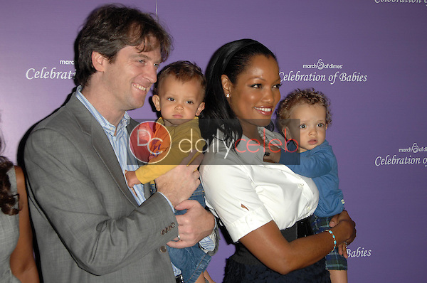 Mike Nilon with Garcelle Beauvais and family<br />at 'Celebration of Babies' luncheon to benefit March of Dimes. Beverly Hilton Hotel, Beverly Hills, CA. 09-27-08<br />Dave Edwards/DailyCeleb.com 818-249-4998
