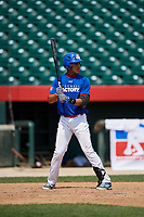 Malfrin Sosa (8) during the Dominican Prospect League Elite Underclass International Series, powered by Baseball Factory, on August 31, 2017 at Silver Cross Field in Joliet, Illinois.  (Mike Janes/Four Seam Images)