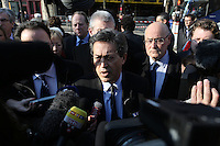 LE DEPUTE LR GEORGES FENECH PRESIDENT DE LA COMMISSION D'ENQUETE SUR LES ATTENTATS DU 13 NOVEMBRE 2015 - ATTENTATS DE PARIS - RECONSTITUTION AU BATACLAN