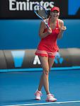 Maria Sharapova (RUS) defeats Ekaterina Makarova (RUS) 6-3, 6-2