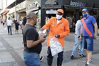 13/06/2020 - DISTRIBUIÇÃO DE MÁSCARAS EM CAMPINAS