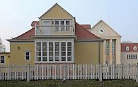Dresden Hellerau - Festspielhaus und Sitz des Werkbund Sachsen. Foto: Norman Rembarz