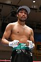 Boxing : 8R lightweight bout at Korakuen Hall in Tokyo