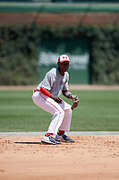 Ed Howard (11) during the Under Armour All-America Game, powered by Baseball Factory, on July 22, 2019 at Wrigley Field in Chicago, Illinois.  Ed Howard attends Mount Carmel High School in Lynwood, Illinois and is committed to Universrity of Oklahoma.  (Mike Janes/Four Seam Images)