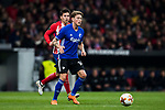 Nicolaj Thomsen of FC Copenhague in action during the UEFA Europa League 2017-18 Round of 32 (2nd leg) match between Atletico de Madrid and FC Copenhague at Wanda Metropolitano  on February 22 2018 in Madrid, Spain. Photo by Diego Souto / Power Sport Images