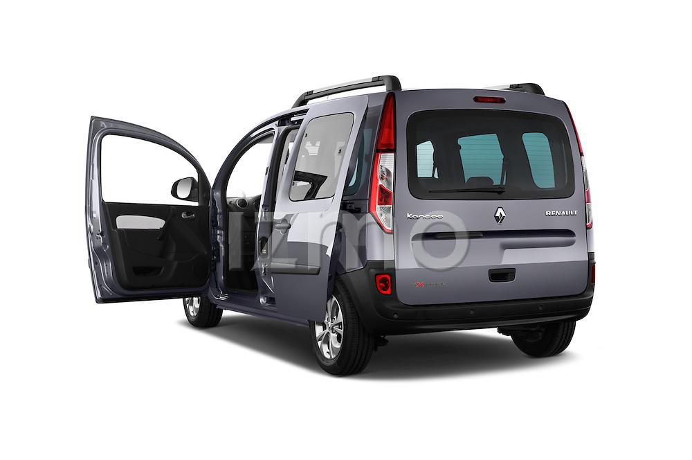 Rear three quarter door view of a 2013 - 2014 Renault Kangoo eXtrem Mini MPV.