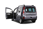 Rear three quarter door view of a 2013 - 2014 Renault Kangoo eXtrem Mini MPV.