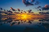 Lever de soleil à Yaté