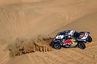 4th January 2021; Dakar Rally stage 2;  #302 Peterhansel Stephane (fra), Boulanger Edouard (fra), Mini, X-Raid Mini JCQ Team, Auto, action during the 2nd stage of the Dakar 2021 between Bisha and Wadi Al Dawasir, in Saudi Arabia on January 4, 2021