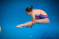 Khamulkina Alena BLR<br /> Diving - Women's 3m preliminary<br /> XXXV LEN European Aquatic Championships<br /> Duna Arena<br /> Budapest  - Hungary  15/5/2021<br /> Photo Giorgio Perottino / Deepbluemedia / Insidefoto