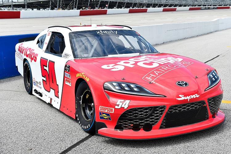 #54: Denny Hamlin, Joe Gibbs Racing, Toyota Supra SportClips