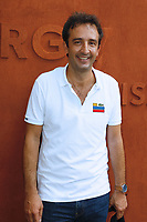 Cyrille Eldin -Célébrités a Roland Garros-2 juin 2017 -Paris Roland Garros