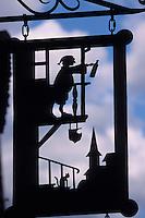 Europe/France/Alsace/68/Haut-Rhin/Turckheim : Enseigne caviste