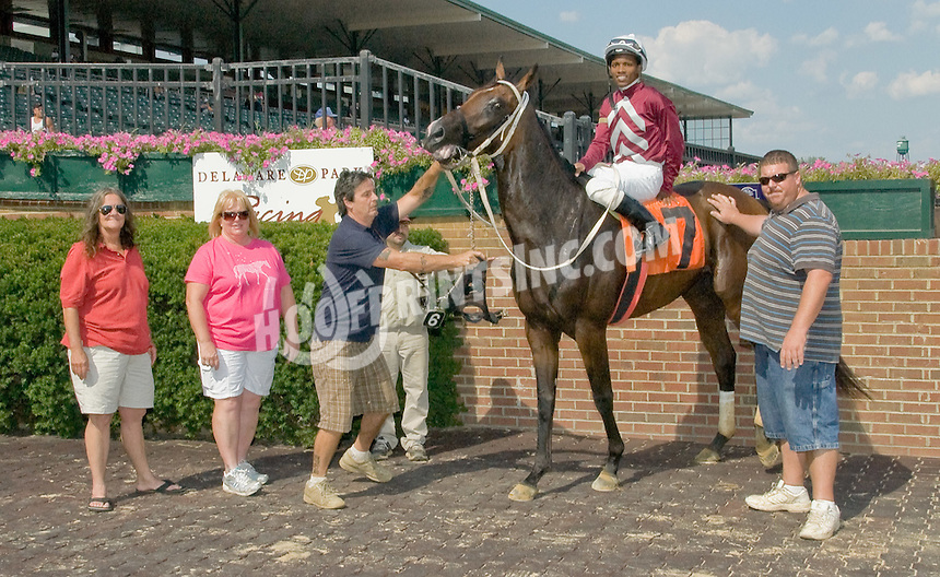 Kingofthehighcees winning at Delaware Park on 8/13/12.
