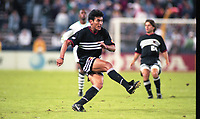 WASHINGTON, DC - OCTOBER 10: MLS Playoff action during a game between Tampa Bay Mutiny  and D.C. United at RFK Stadium on October 10, 1996 in Washington, DC.