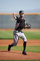 Chicago White Sox pitcher Jack Charleston (24) during an Instructional League game against the Cincinnati Reds on October 11, 2016 at the Cincinnati Reds Player Development Complex in Goodyear, Arizona.  (Mike Janes/Four Seam Images)