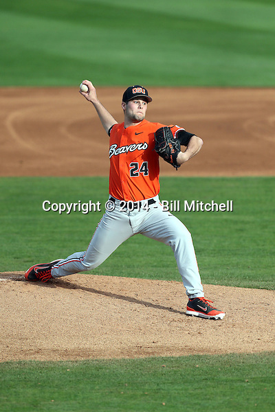 Scott Schultz - 2014 Oregon State Beavers (Bill Mitchell)