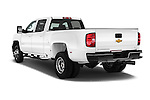 Car pictures of rear three quarter view of 2016 Chevrolet Silverado-3500HD LT-Crew-Cab-Long-Box-DRW 4 Door Pick-up Angular Rear
