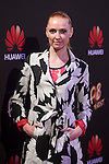Cristina Castano poses during Huawei presentation at Bodevil theater in Madrid, Spain. June 10, 2015. (ALTERPHOTOS/Victor Blanco)