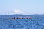 Port Townsend, Rat Island Regatta, rowers, Sweet 16, racing, Sound Rowers, Rat Island Rowing Club, Puget Sound, Olympic Peninsula, Washington State, water sports, rowing, competition,