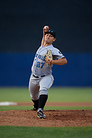 Hudson Valley Renegades pitcher Colby White (27) during a NY-Penn League game against the Mahoning Valley Scrappers on July 15, 2019 at Eastwood Field in Niles, Ohio.  Mahoning Valley defeated Hudson Valley 6-5.  (Mike Janes/Four Seam Images)