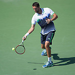 Marin Cilic (CRO) beats Tomas Berdych (CZE) 6-2, 6-4, 7-6  at the US Open being played at USTA Billie Jean King National Tennis Center in Flushing, NY on September 4, 2014