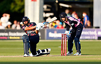 Jack Leaning hits out for Kent during Kent Spitfires vs Middlesex, Vitality Blast T20 Cricket at The Spitfire Ground on 11th June 2021