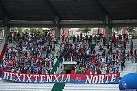 MANIZALES - COLOMBIA, 04-08-2021: Once Caldas y Deportivo Independiente Medellín en partido por la fase III, vuelta, como parte de la Copa BetPlay DIMAYOR 2021 jugado en el estadio Palogrande de la ciudad de Manizalez. / Once Caldas and Deportivo Independiente Medellin in match for the phase III, second leg, as part of BetPlay DIMAYOR Cup 2021 played at the Palogrande stadium in Manizales city. Photo: VizzorImage / Pablo Bohorquez / Cont