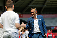 Swansea manager Carlos Carvalhal during the Premier League match between Swansea City and Stoke City at The Liberty Stadium, Swansea, Wales, UK. Sunday 13 May 2018