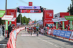 Green Jersey Fabio Jakobsen (NED) Deceuninck-Quick-Step wins Stage 16 of La Vuelta d'Espana 2021, running 180km from Laredo to Santa Cruz de Bezana, Spain. 31st August 2021.     <br /> Picture: Cxcling   Cyclefile<br /> <br /> All photos usage must carry mandatory copyright credit (© Cyclefile   Cxcling)