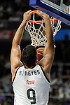 Real Madrid´s Felipe Reyes during 2014-15 Liga Endesa match between Real Madrid and Unicaja at Palacio de los Deportes stadium in Madrid, Spain. April 30, 2015. (ALTERPHOTOS/Luis Fernandez)