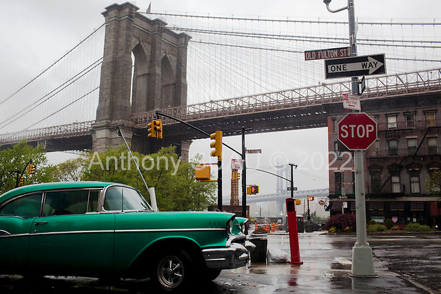Brooklyn, New York<br /> April 25, 2010<br /> <br /> Brooklyn Heights on a rainy Sunday.