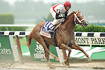 Trappe Shot Wins The True North Presented by Emirates Airlines at Belmont Park on Belmont Stakes Day on June 11, 2011. Ridden by John Velazquez. Trained by Kiaran McLaughlin