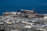 Aerial photograph Pier 70 San Francisco California