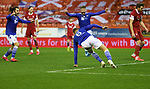 Aberdeen v St Johnstone…26.12.20   Pittodrie      SPFL<br />Liam Gordon scores his goal<br />Picture by Graeme Hart.<br />Copyright Perthshire Picture Agency<br />Tel: 01738 623350  Mobile: 07990 594431