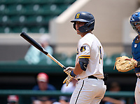 Belen Jesuit Wolverines Gio Cueto (14) during the 42nd Annual FACA All-Star Baseball Classic on June 5, 2021 at Joker Marchant Stadium in Lakeland, Florida.  (Mike Janes/Four Seam Images)