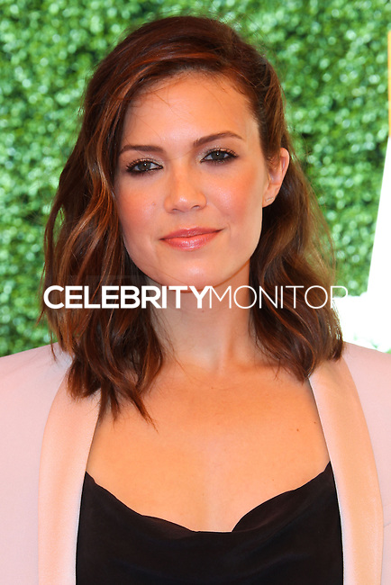 PACIFIC PALISADES, CA - OCTOBER 05: Actress Mandy Moore arrives at the 4th Annual Veuve Clicquot Polo Classic held at Will Rogers Polo Grounds on October 5, 2013 in Pacific Palisades, California. (Photo by Xavier Collin/Celebrity Monitor)