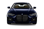 Car photography straight front view of a 2021 BMW 4-series M-Sport 2 Door Coupe Front View